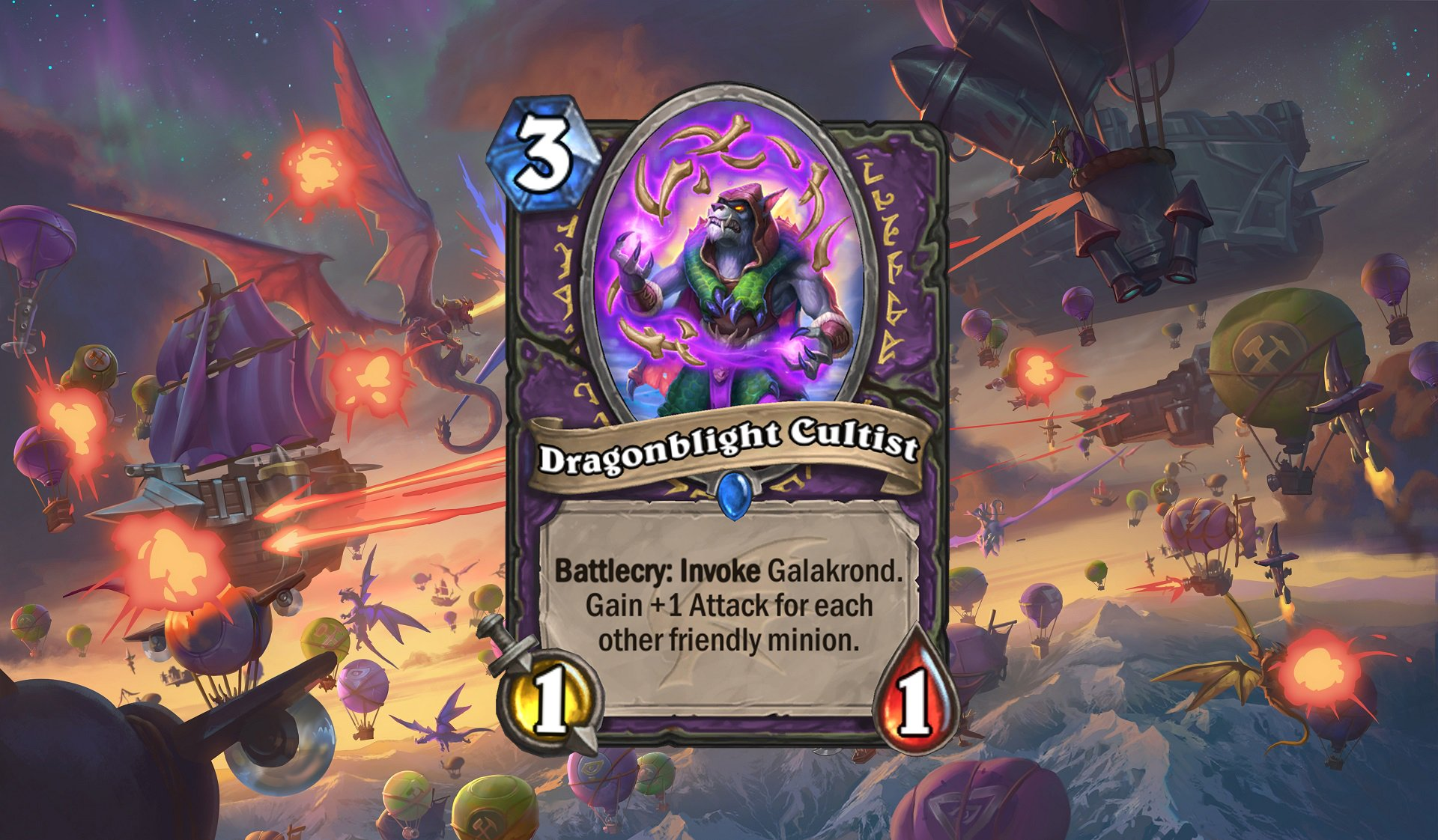 Hearthstone - Dragonblight Cultist