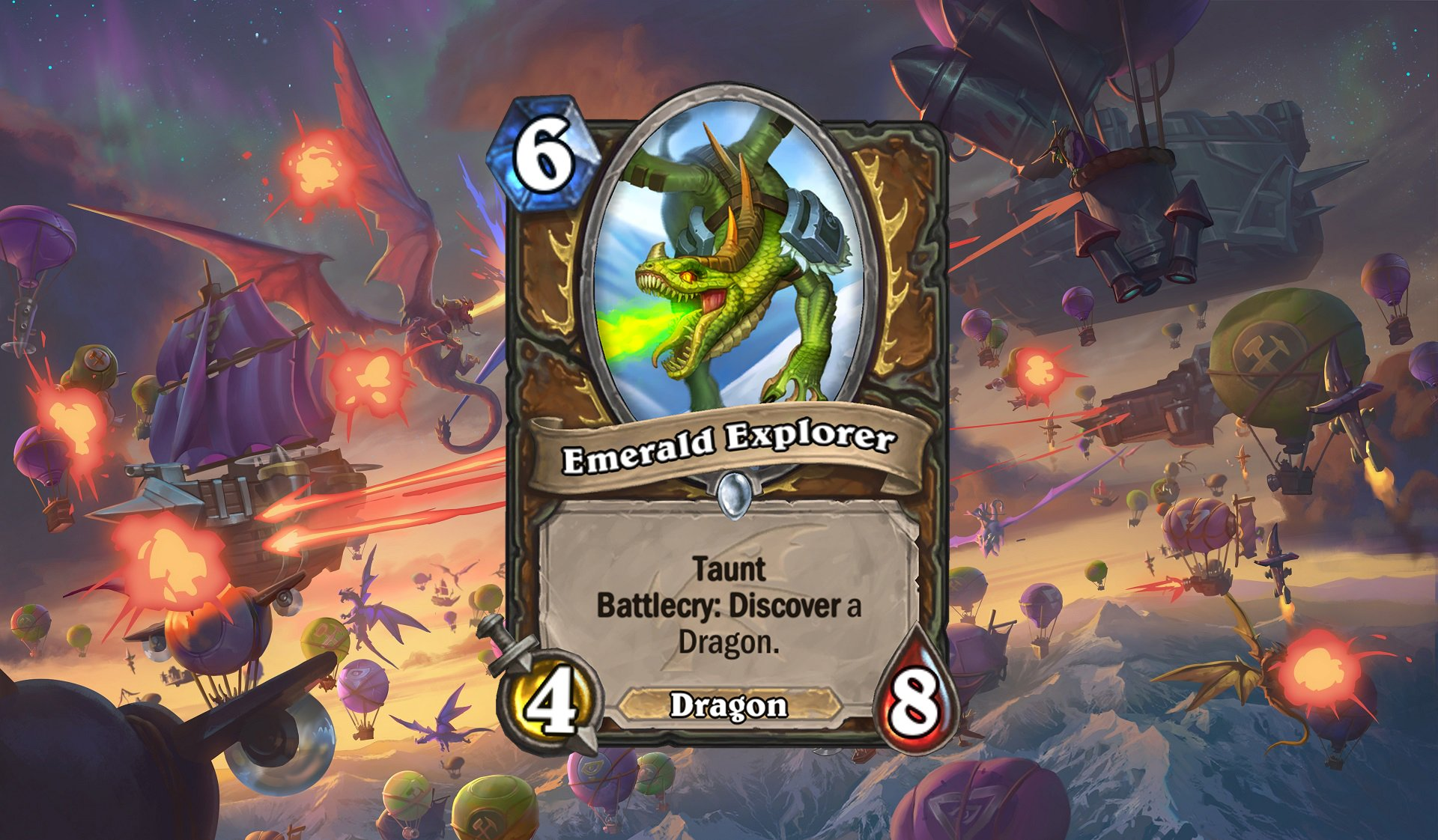 Hearthstone - Emerald Explorer