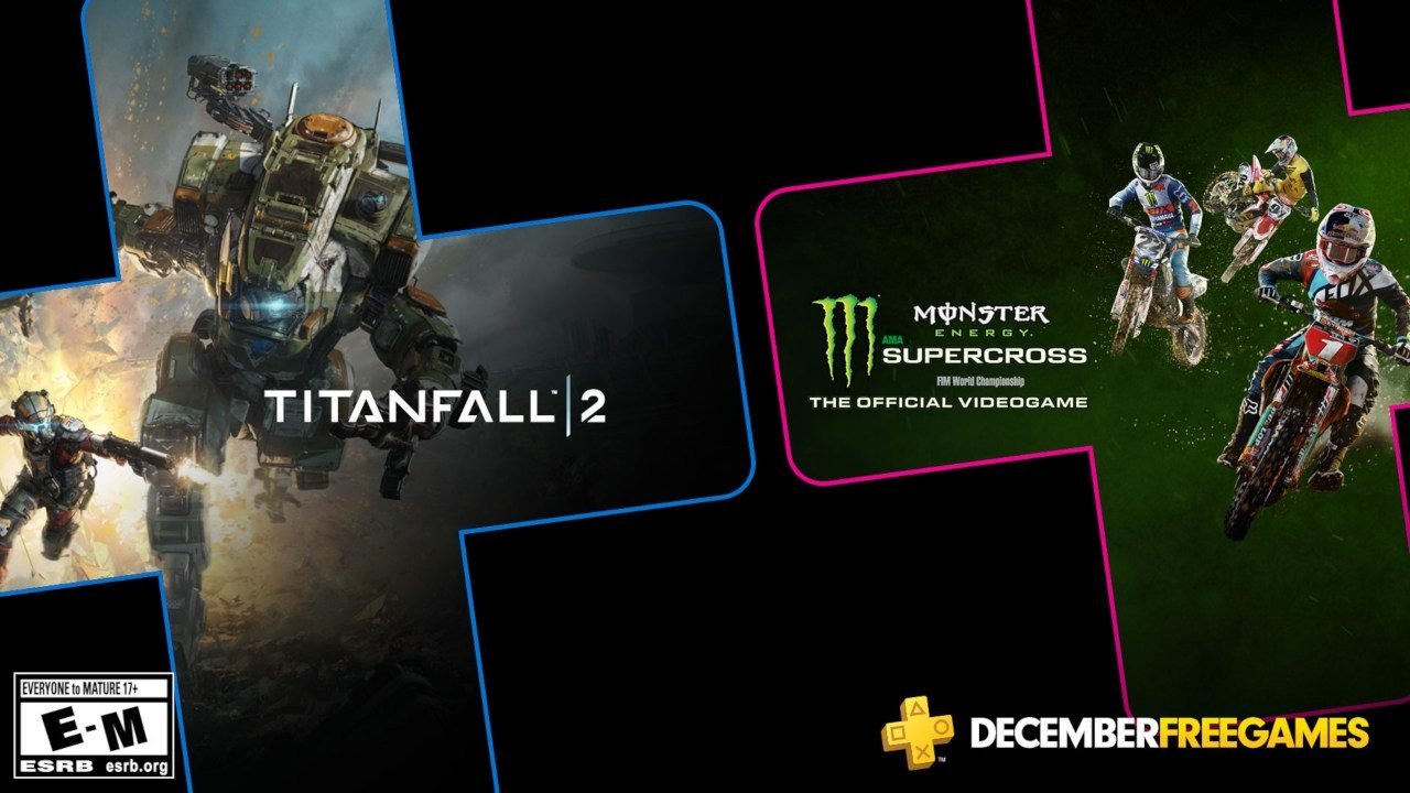 Titanfall 2 and Monster Energy Supercross will both challenge you to become familiar with your machines and pursue victory in December 2019.