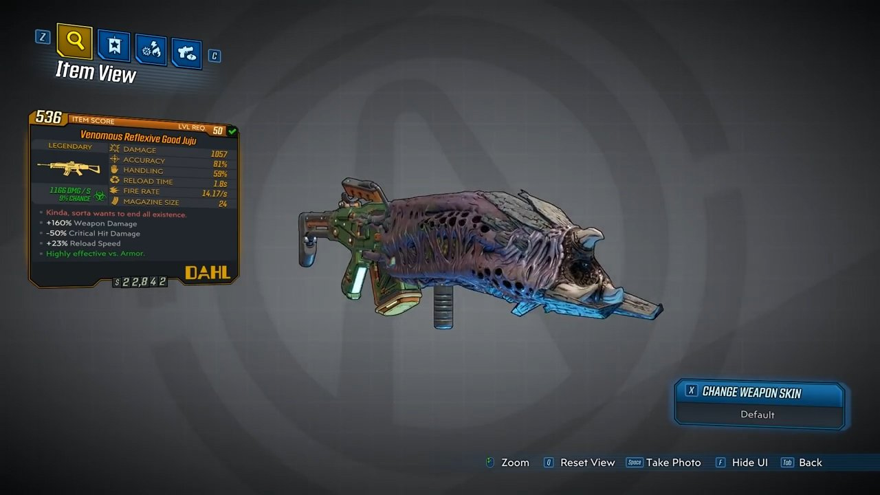 Good Juju Legendary Assault Rifle - Borderlands 3