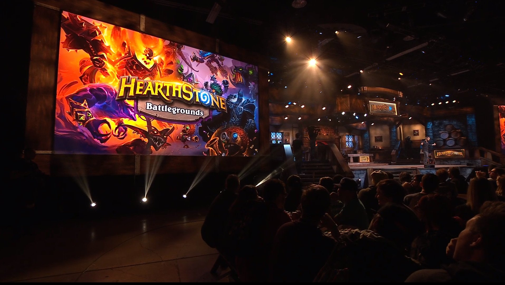 Hearthstone Battlegrounds was revealed at the Blizzcon 2019 keynote