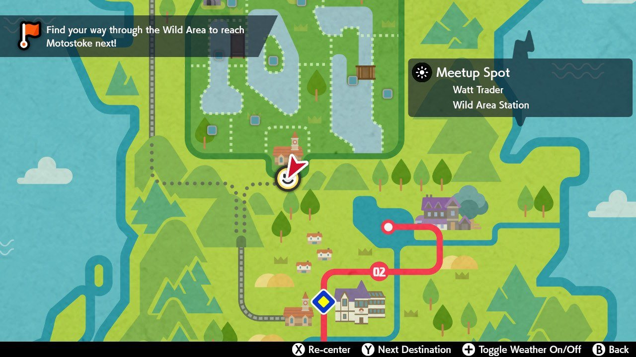 how to get gigantamax pikachu in Pokemon Sword and Shield - map location