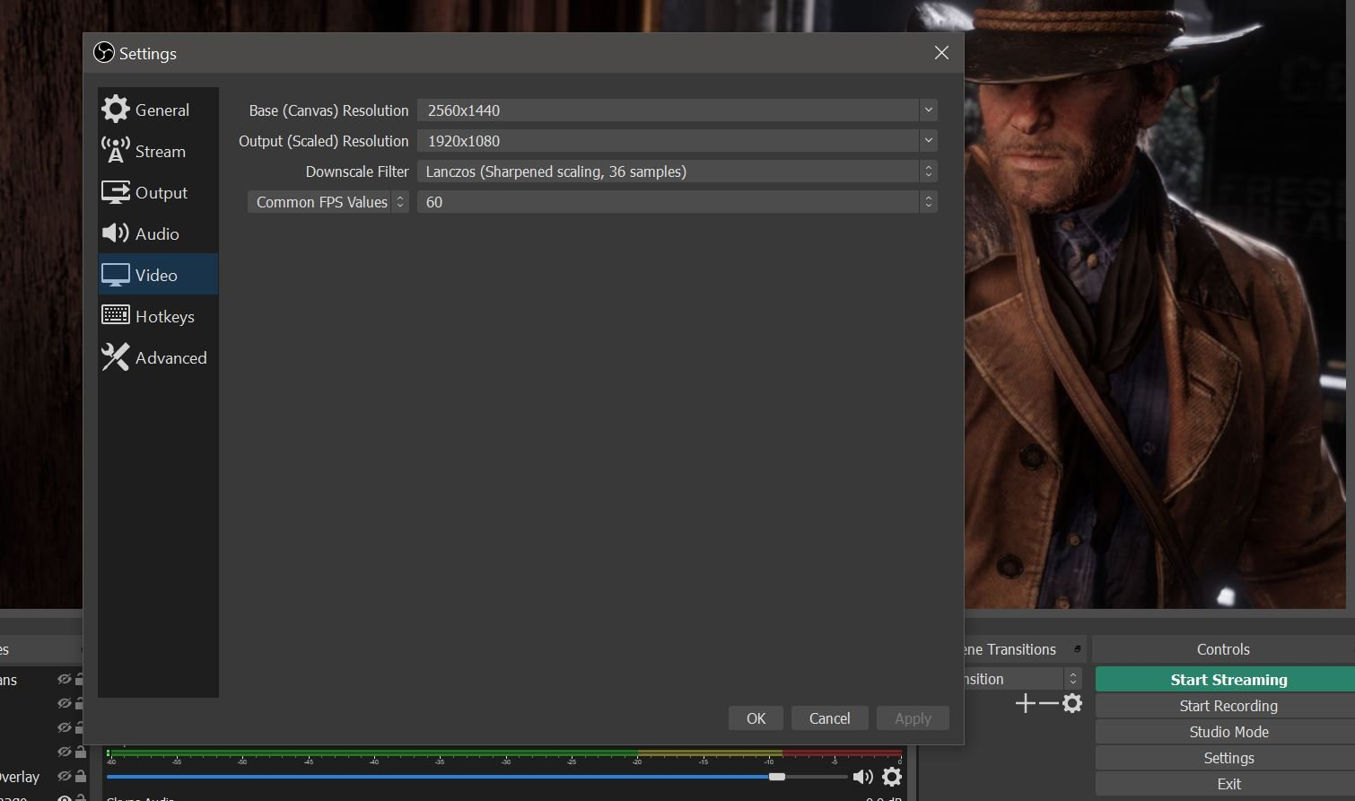 How to capture gameplay in Red Dead Redemption 2 for PC