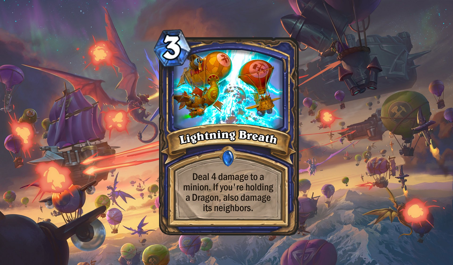 Hearthstone - Lightning Breath
