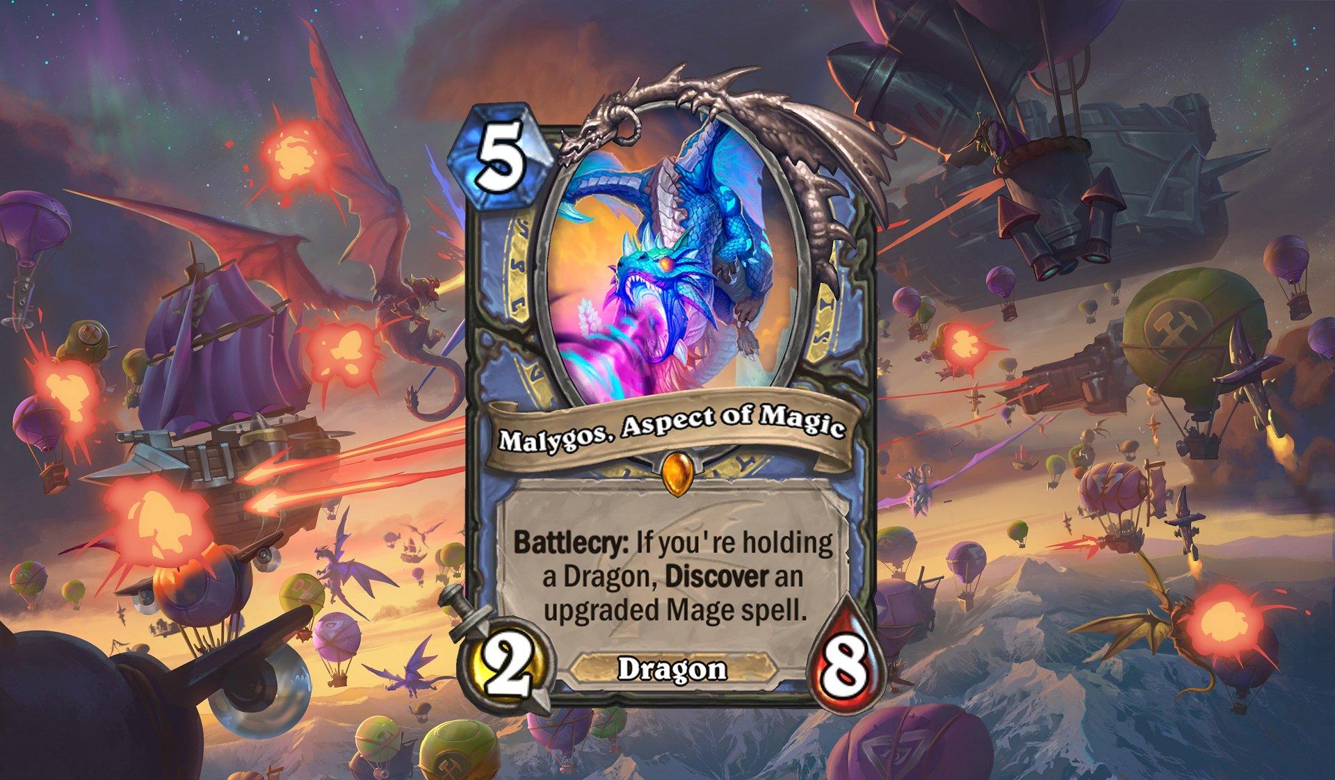 Hearthstone - Malygos Aspect of Magic
