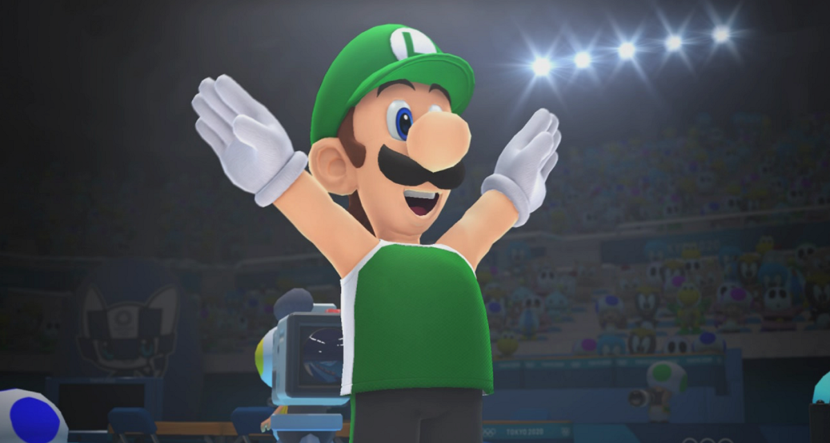 Luigi is tasked with bringing his brother back to the year 2020, and he teams up with a lot of familiar faces along the journey.