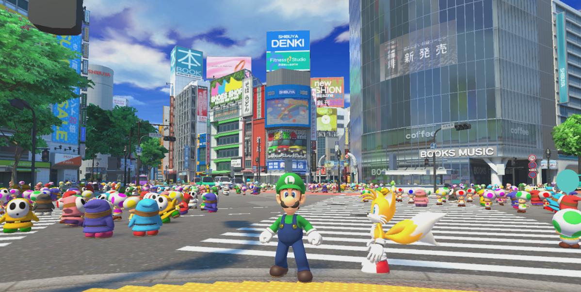 Shibuya Scramble Search is a lot like a Where's Waldo mini-game.