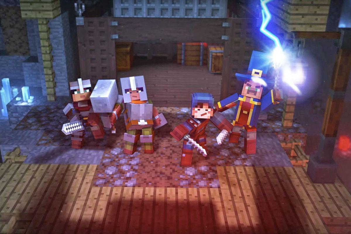 Explore Minecraft Dungeons in April 2020
