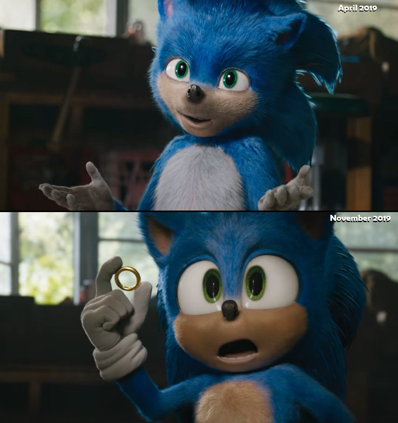 New Sonic The Hedgehog Movie Trailer Doesn T Look That Bad Shacknews