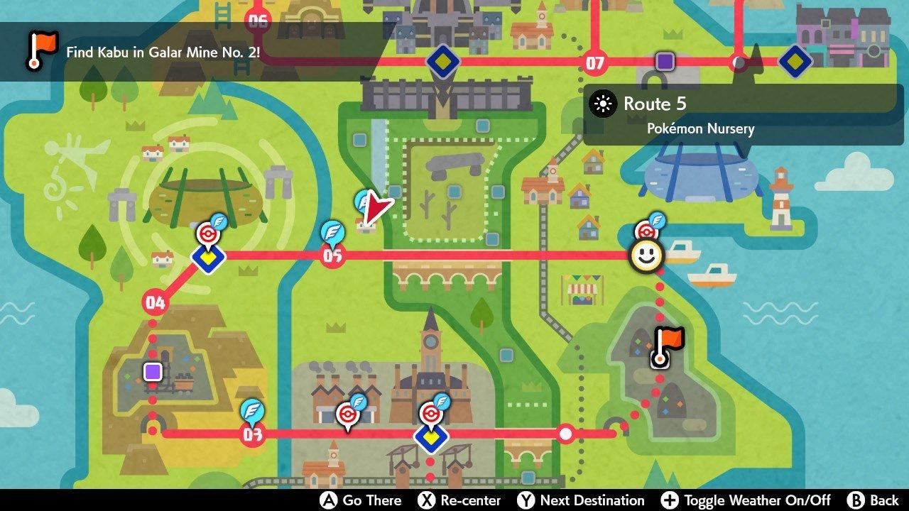 Pokemon Nursery location - Pokemon Sword and Shield