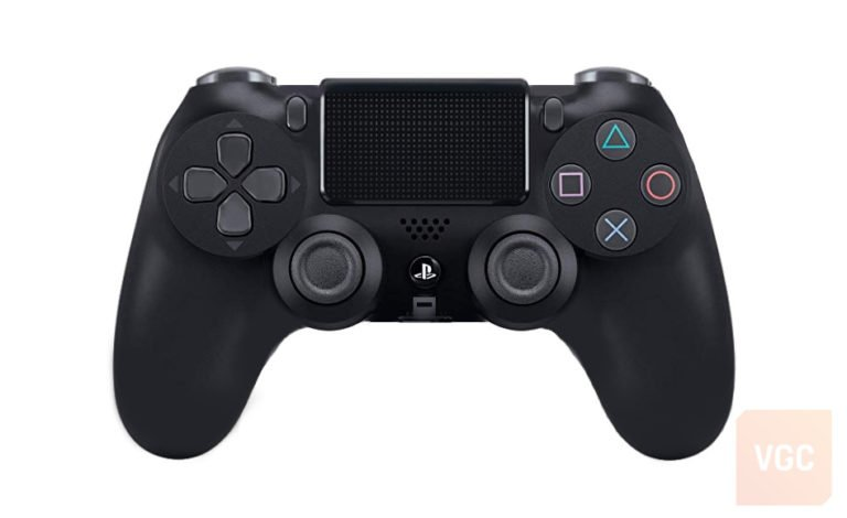 A mock-up of what the default PS5 controller might look like. [Source: Video Game Chronicle]