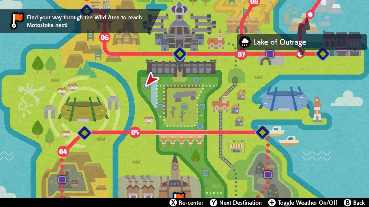 Ditto location - Pokemon Sword and Shield