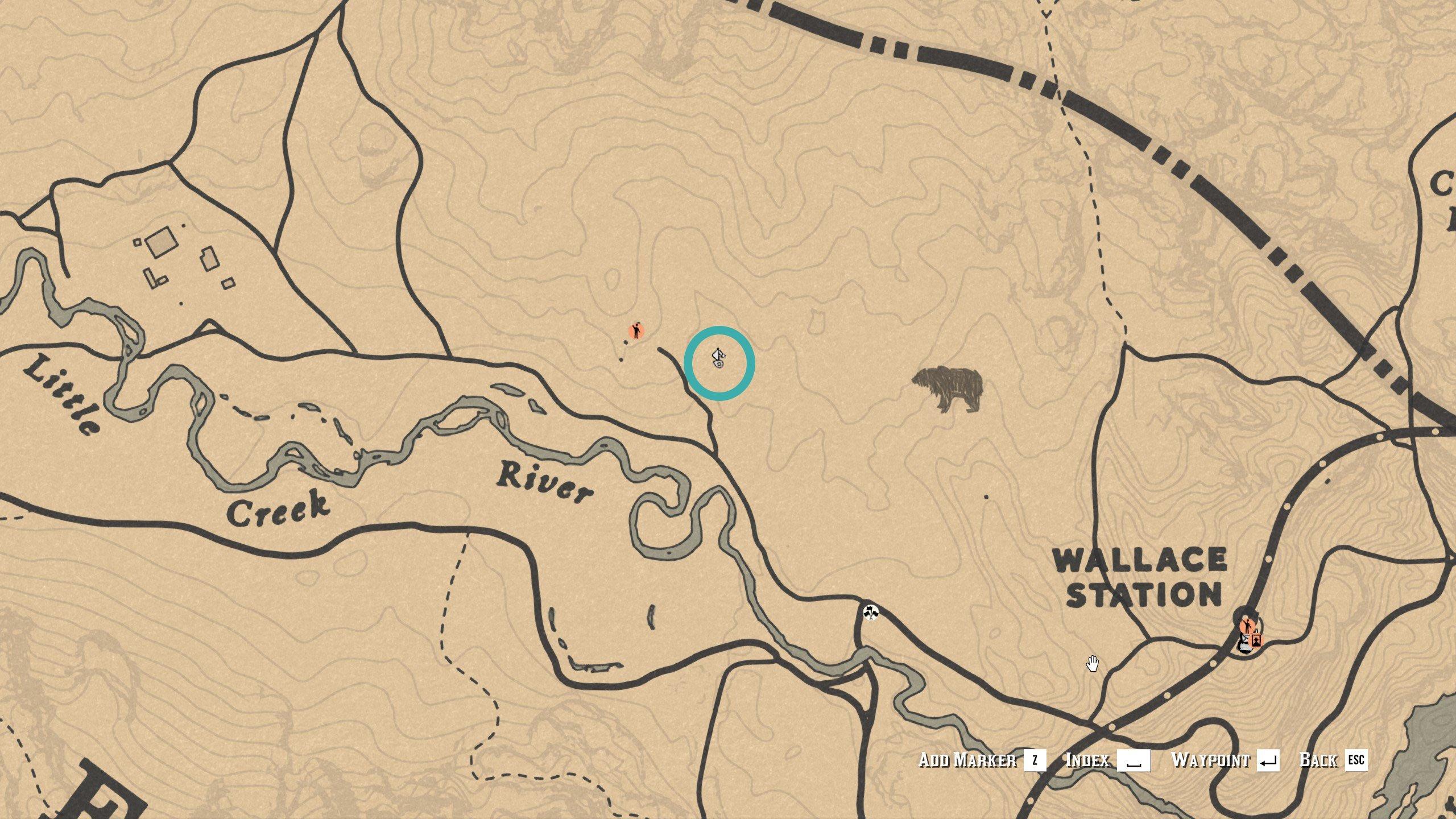 East Watsons Treasure Map location 1