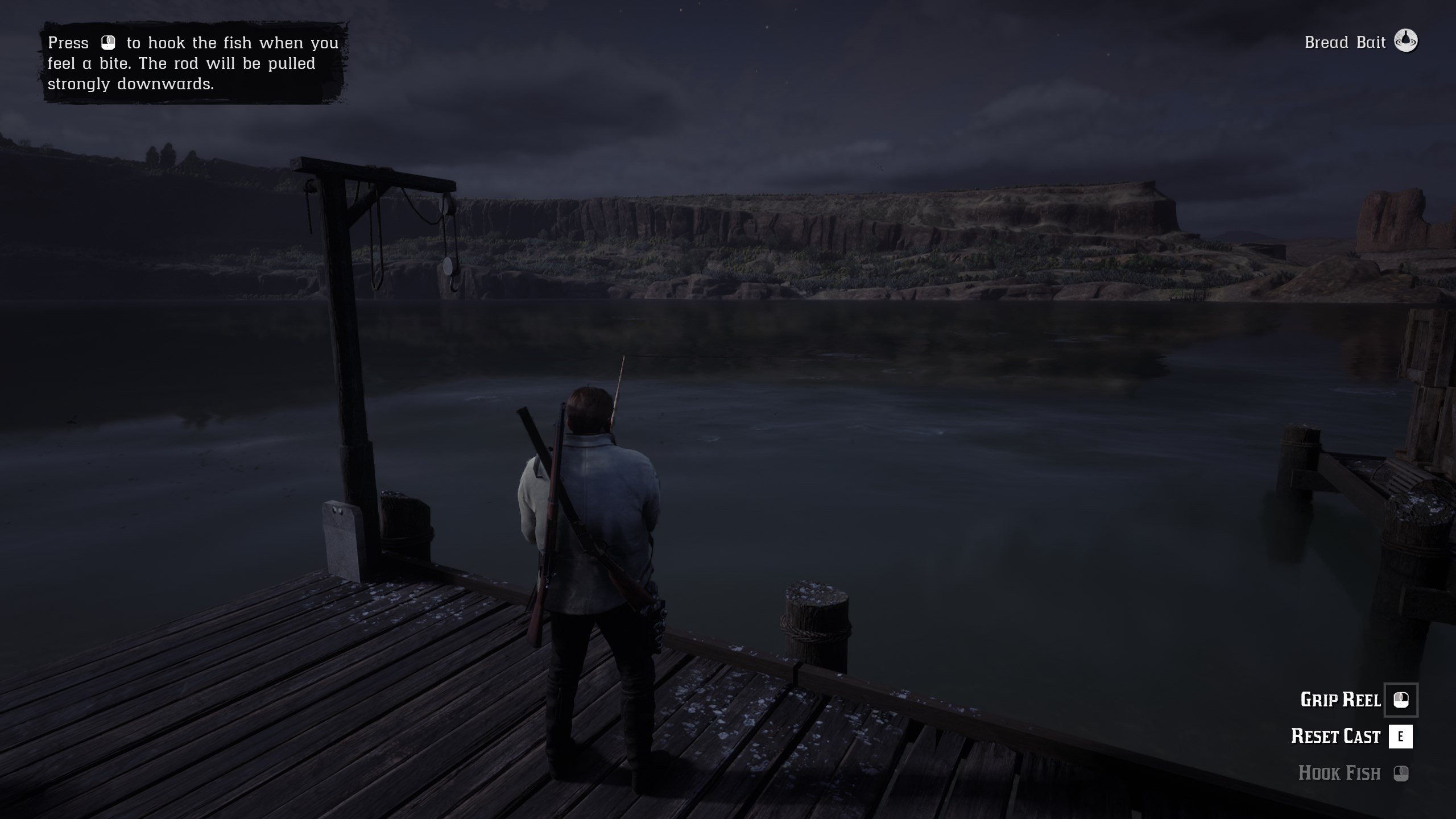 Fishing in Red Dead Online