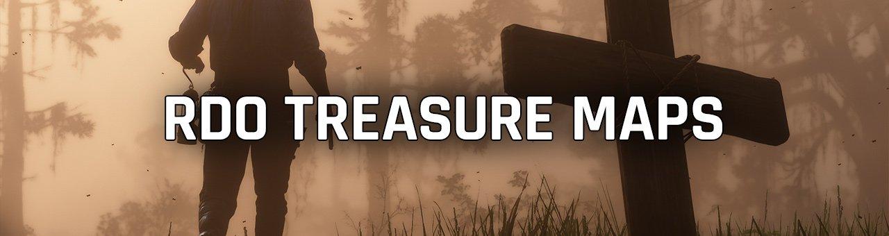 red dead online treasure maps