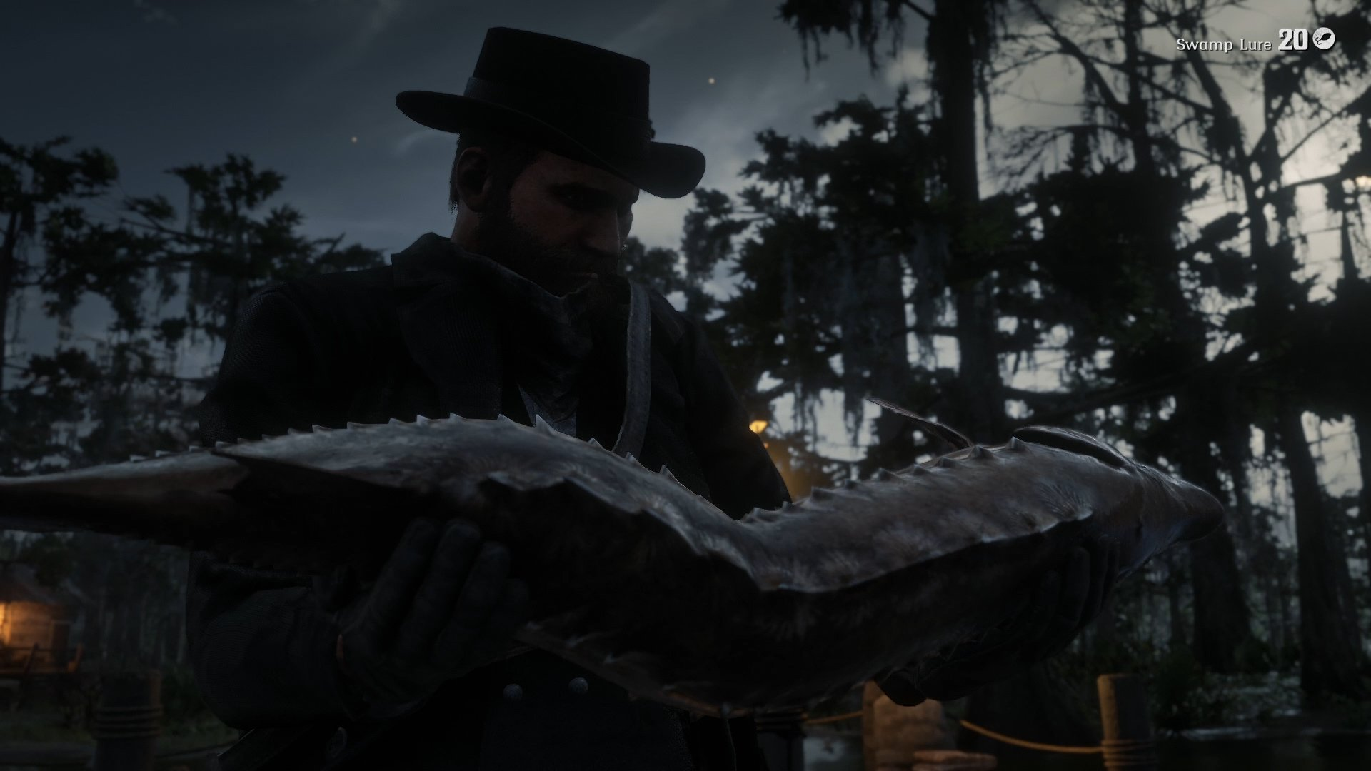 Red Dead Redemption 2 bait and lure guide - Lake Sturgeon