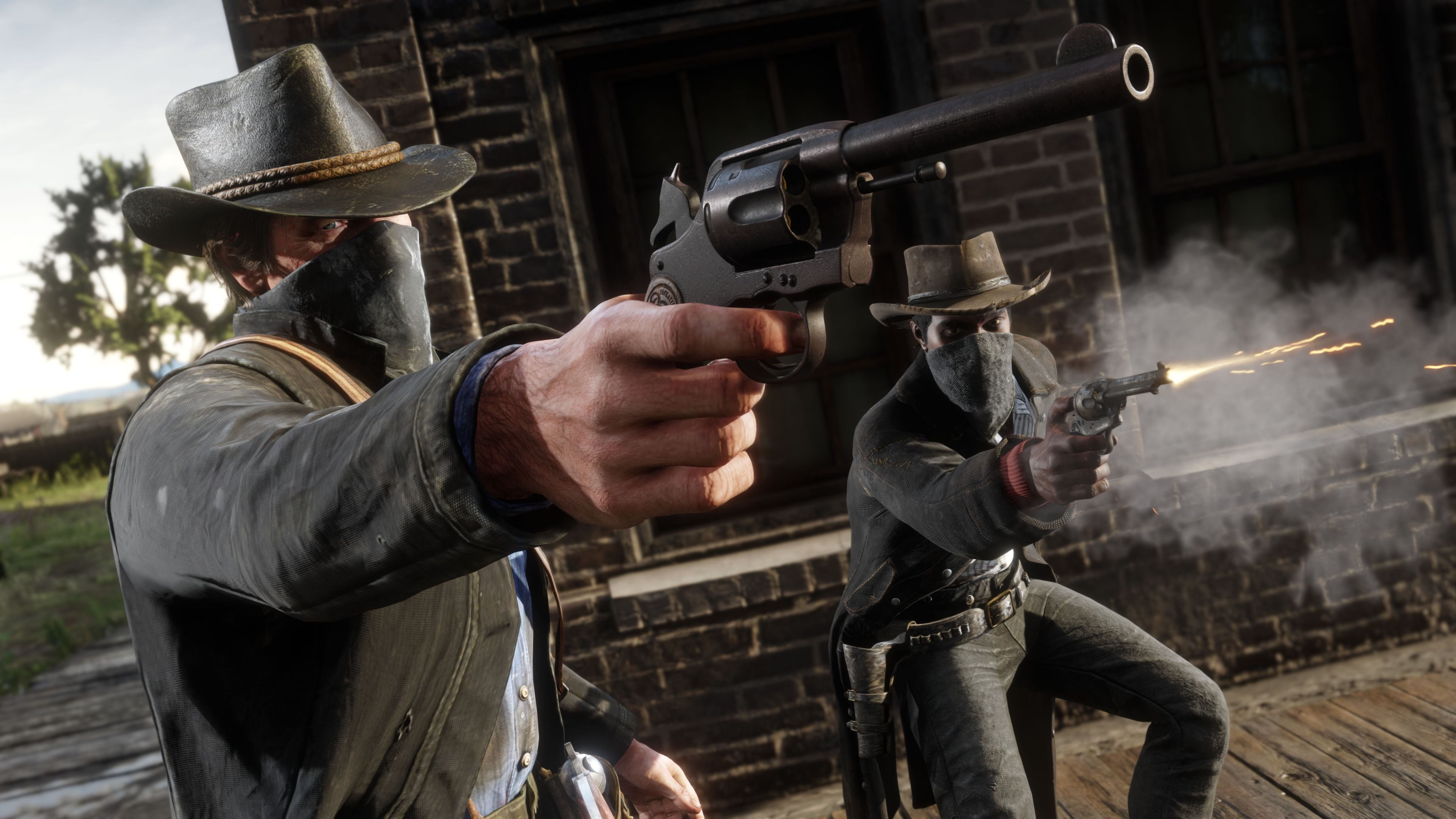 record gameplay Red Dead Redemption 2 PC.