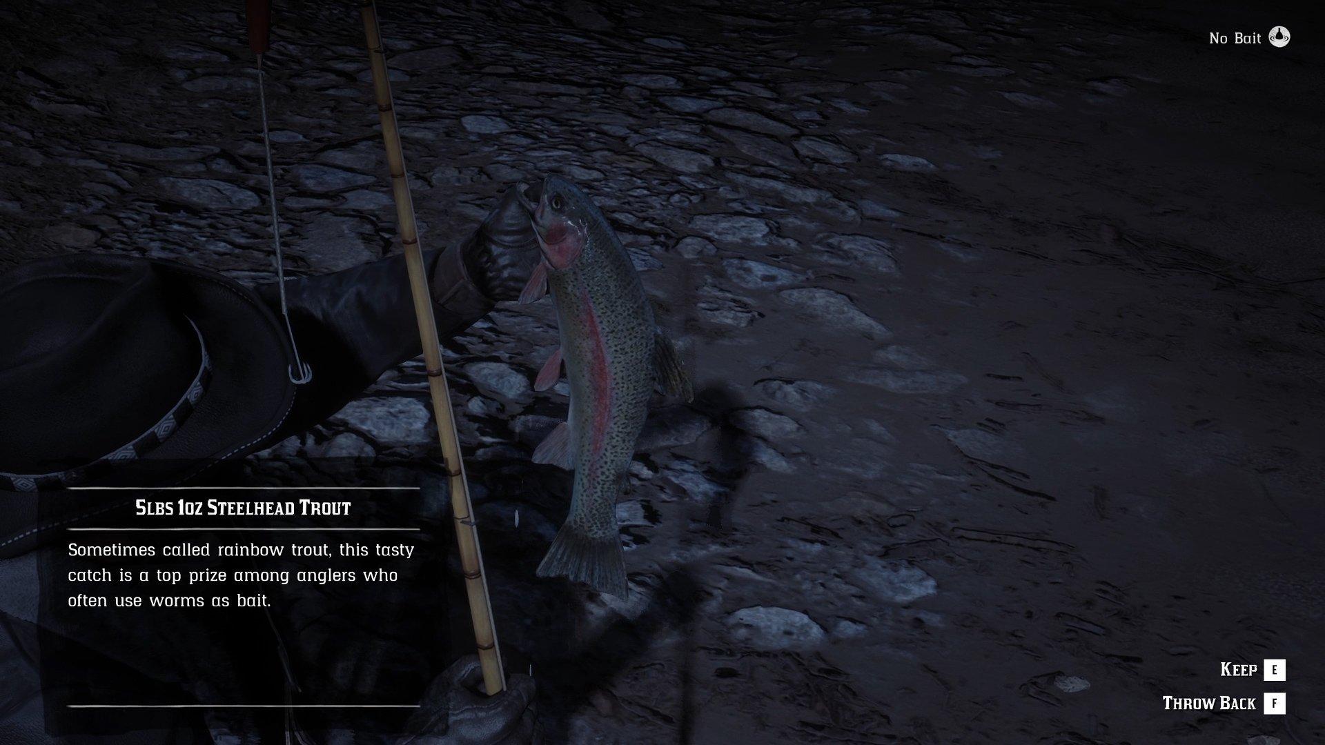 Red Dead Online - Steelhead Trout location