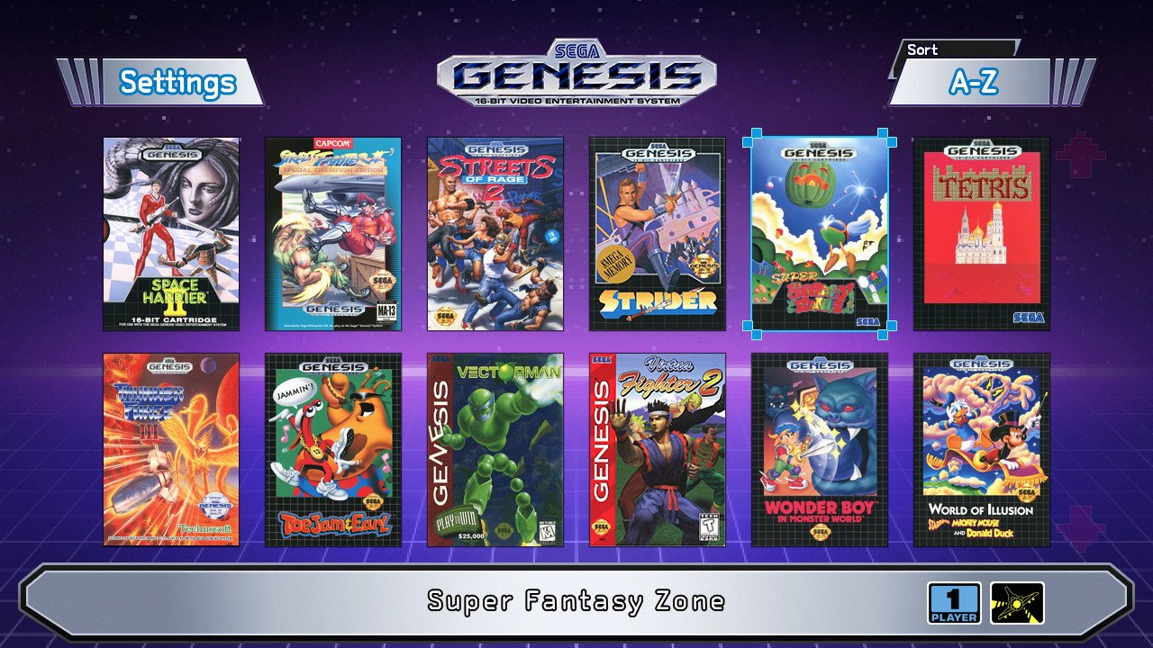 The SEGA Genesis Mini is a time capsule of some of the absolute best of early SEGA gaming.