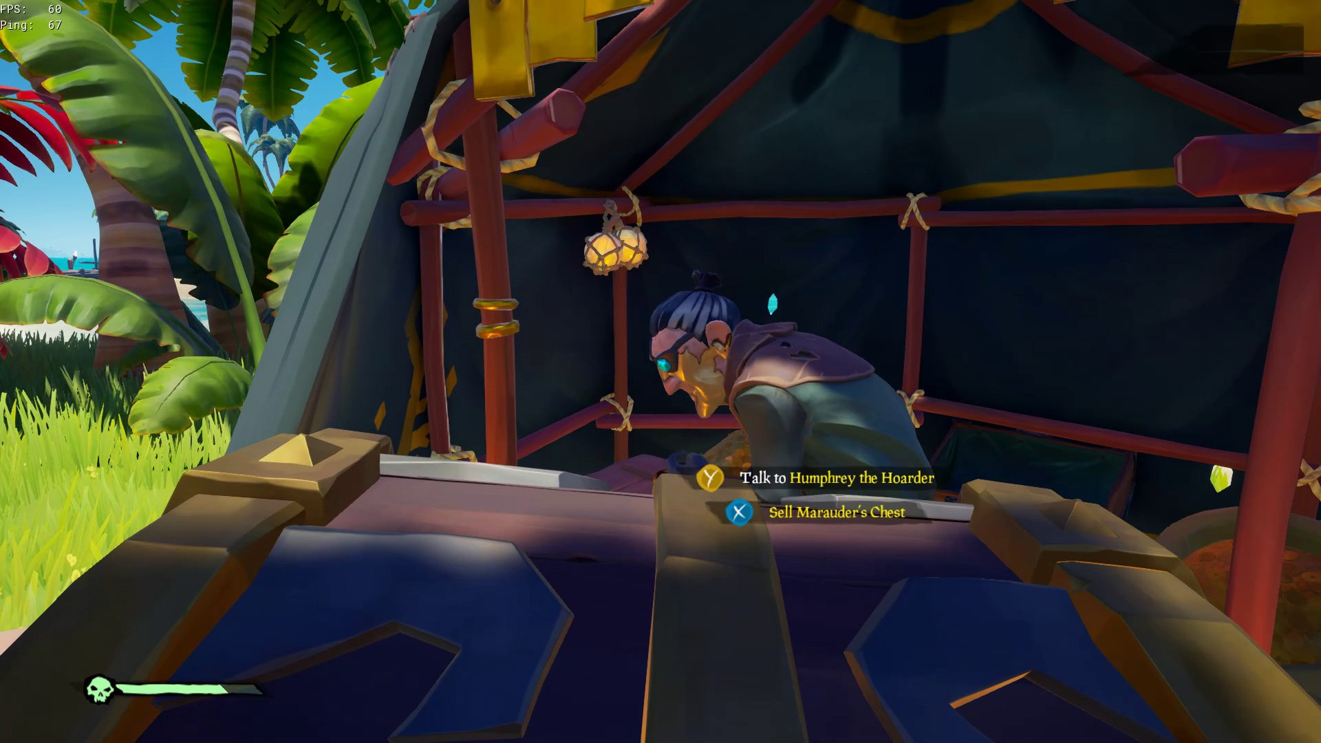 how to sell chests in sea of thieves