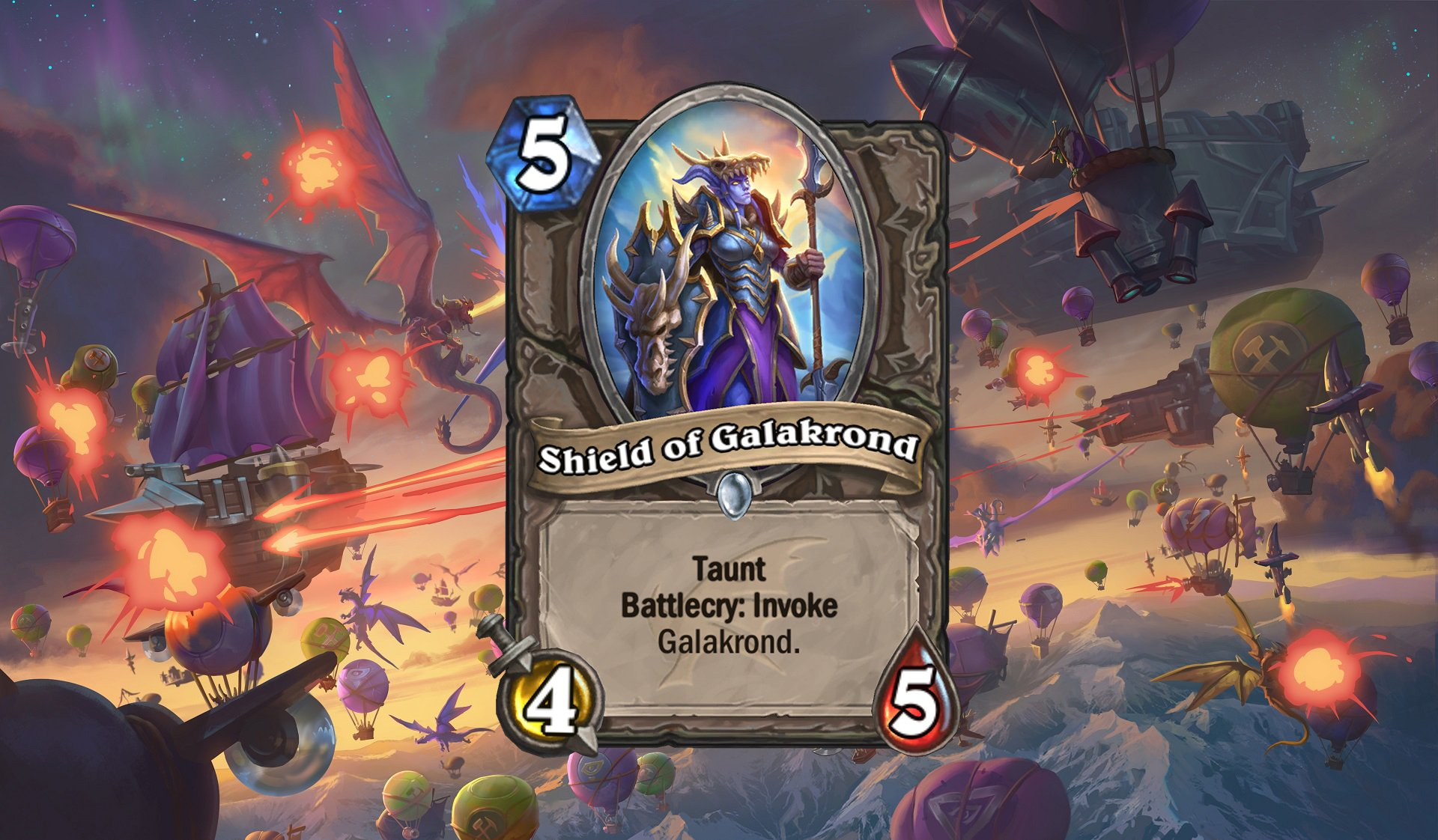 Hearthstone - Shield of Galakrond