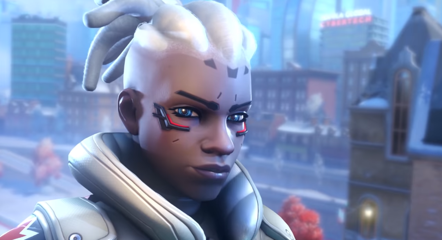 Sojourn is the first black female character to be playable in an Overwatch game.