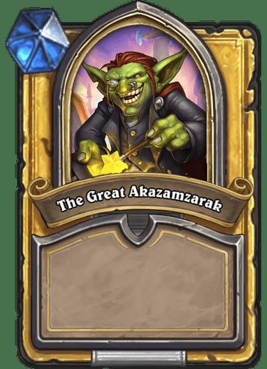 The Great Akazamzarak