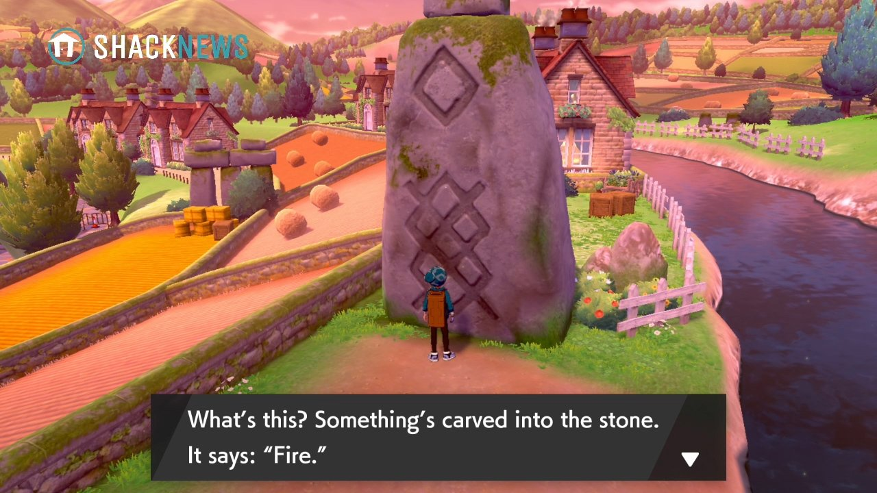 Turffield Stone Riddle - Fire Stone Location