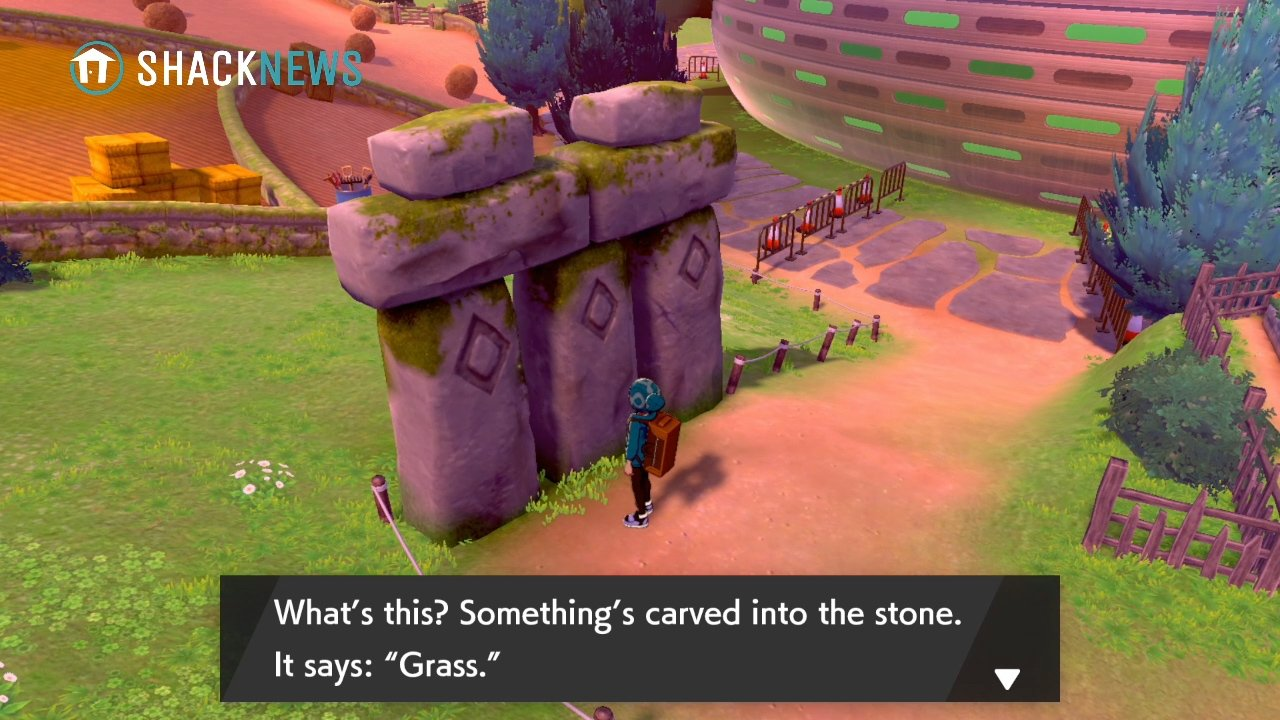 Turffield Stone Riddle - Grass Stone Location