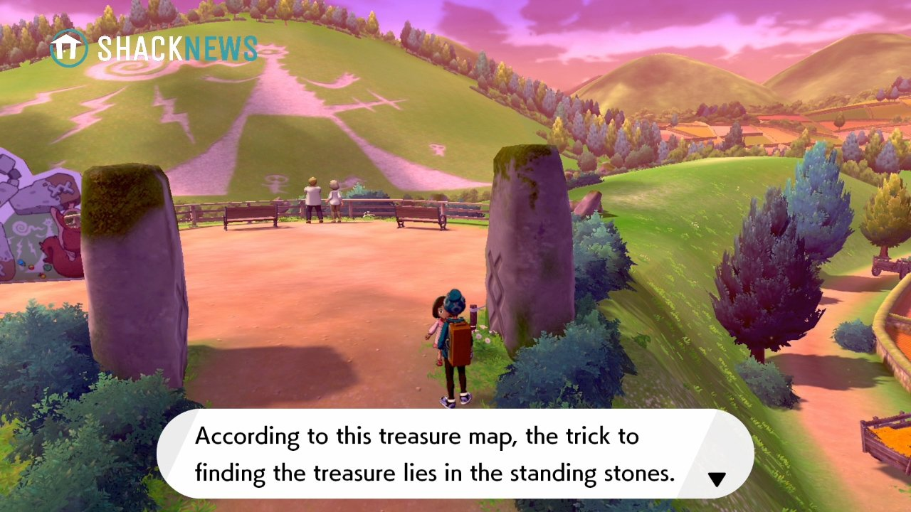 Turffield Stone Riddle - start location