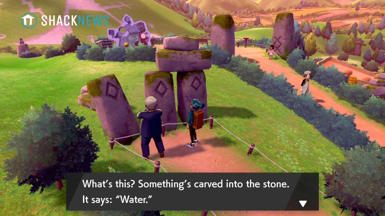 Turffield Stone Riddle - Water Stone Location