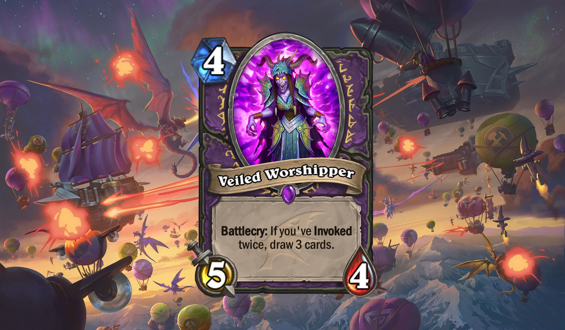 Hearthstone - Veiled Worshipper