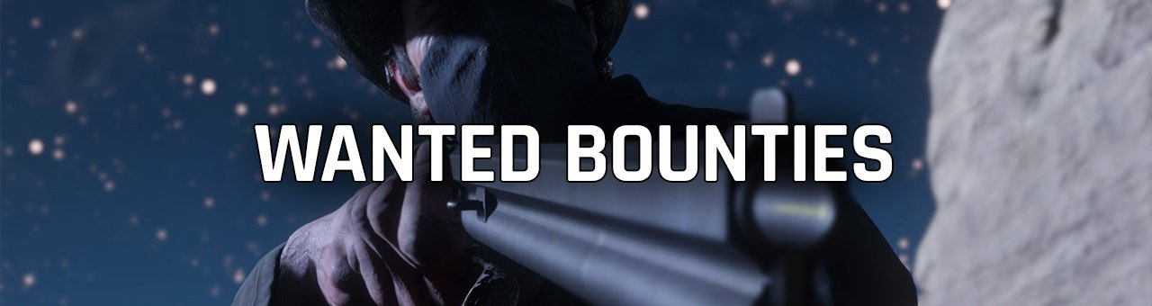 Wanted Bounties Red Dead Redemption 2
