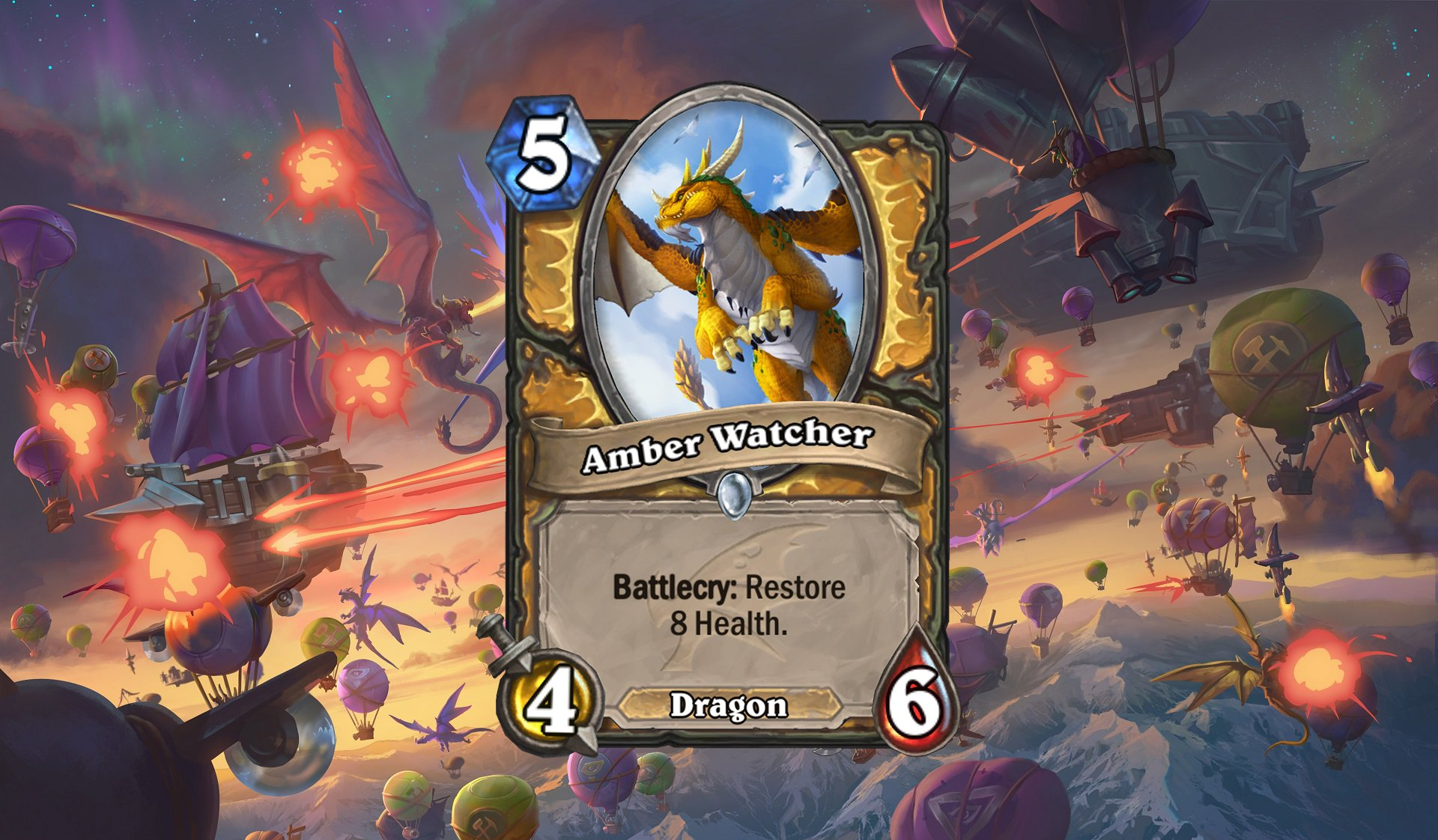 Hearthstone - Amber Watcher