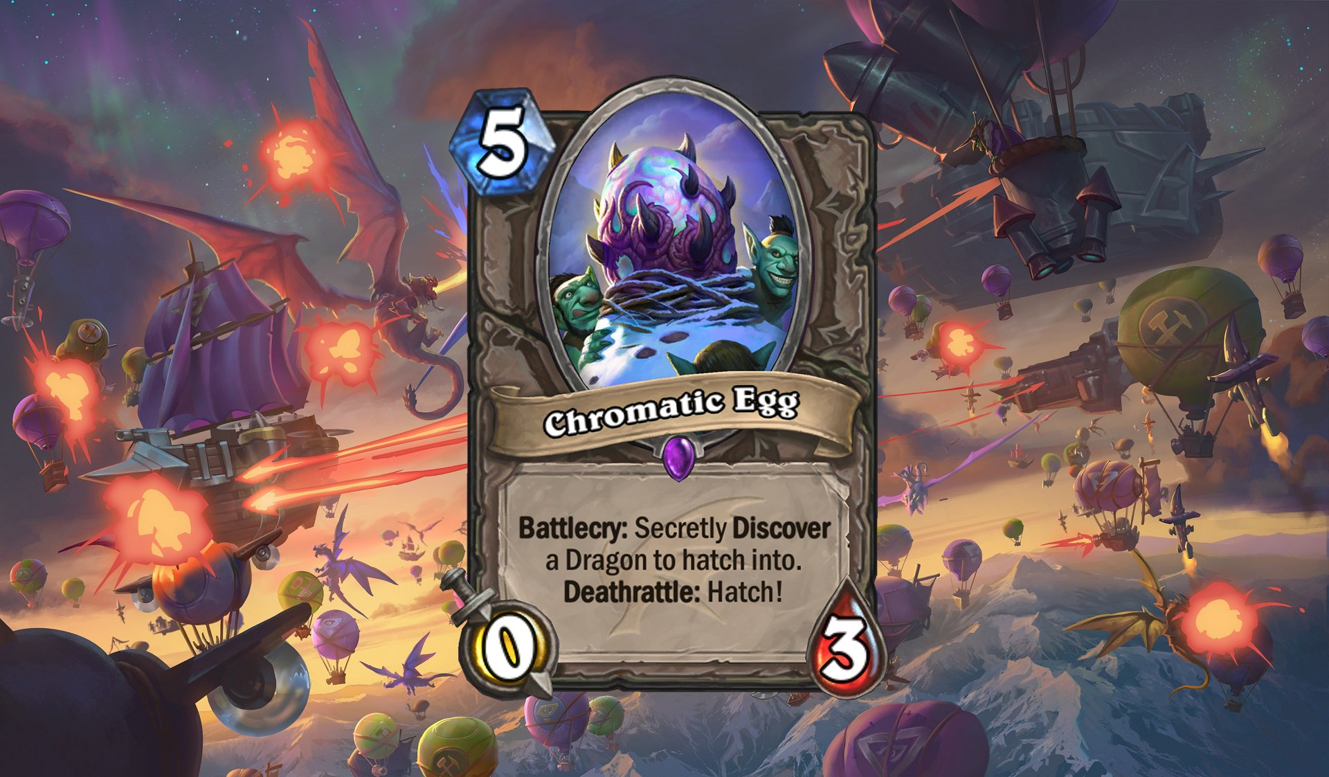 Hearthstone - Chromatic Egg