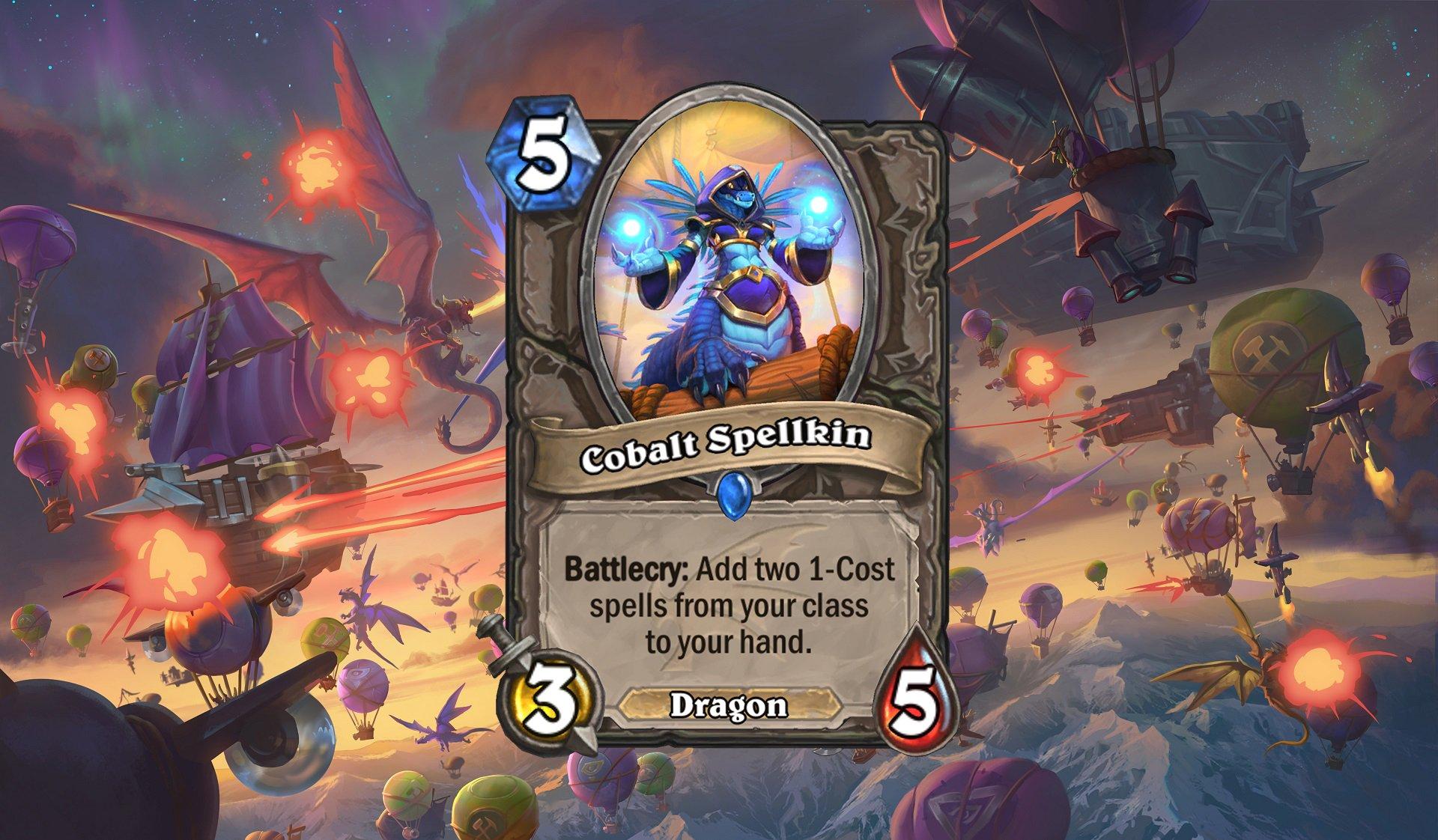 Hearthstone - Cobalt Spellkin