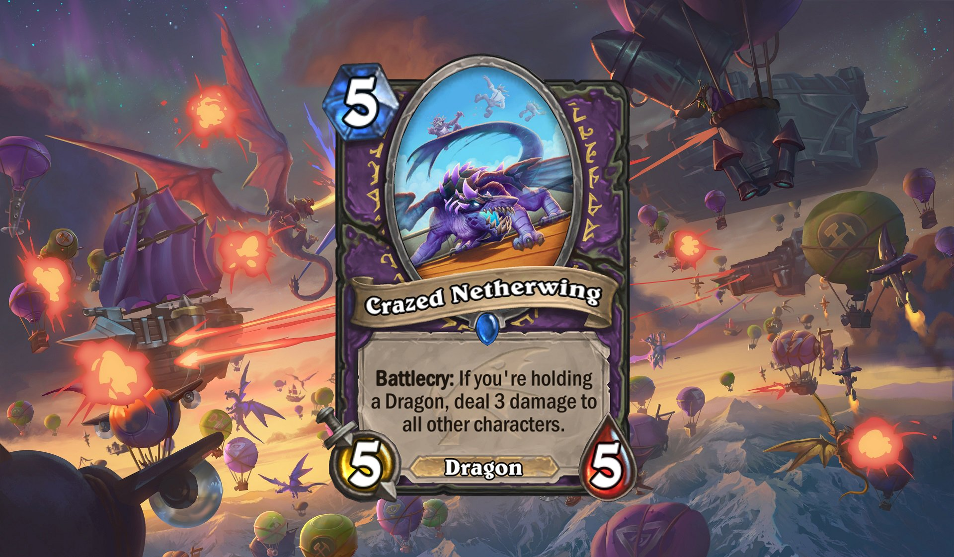 Hearthstone - Crazed Netherwing