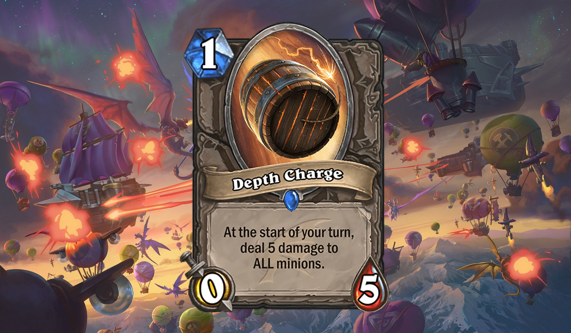 Hearthstone - Depth Charge