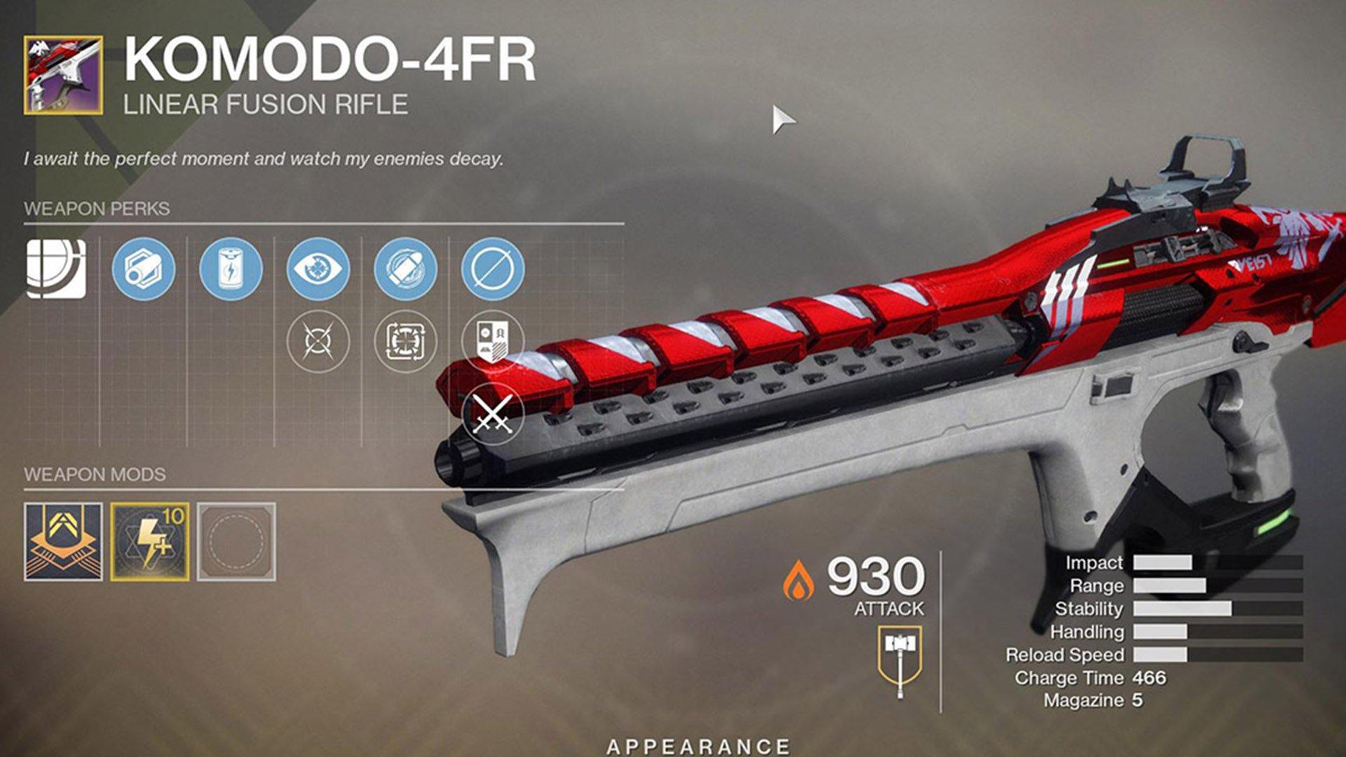 Destiny 2 - Komodo-4FR