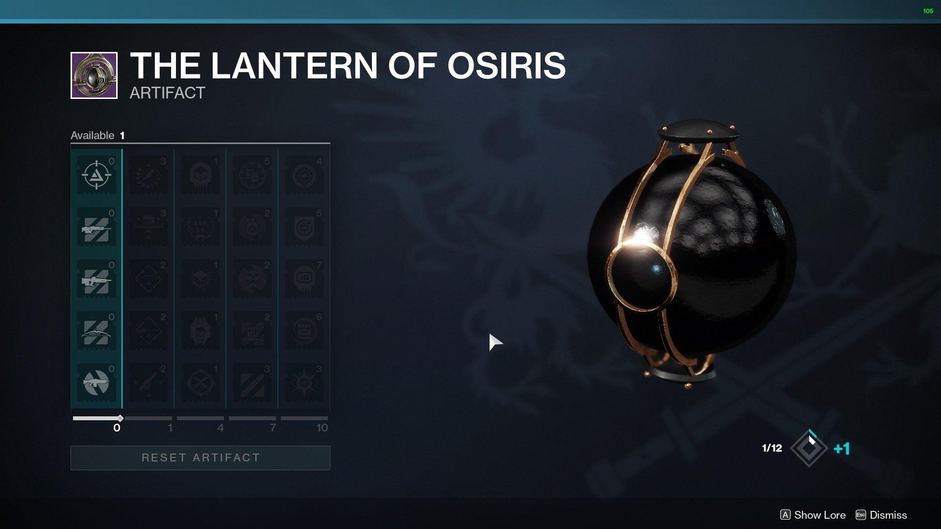 destiny 2 lantern of osiris mods
