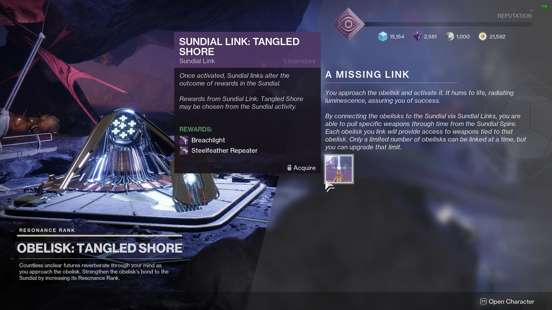 destiny 2 a missing link