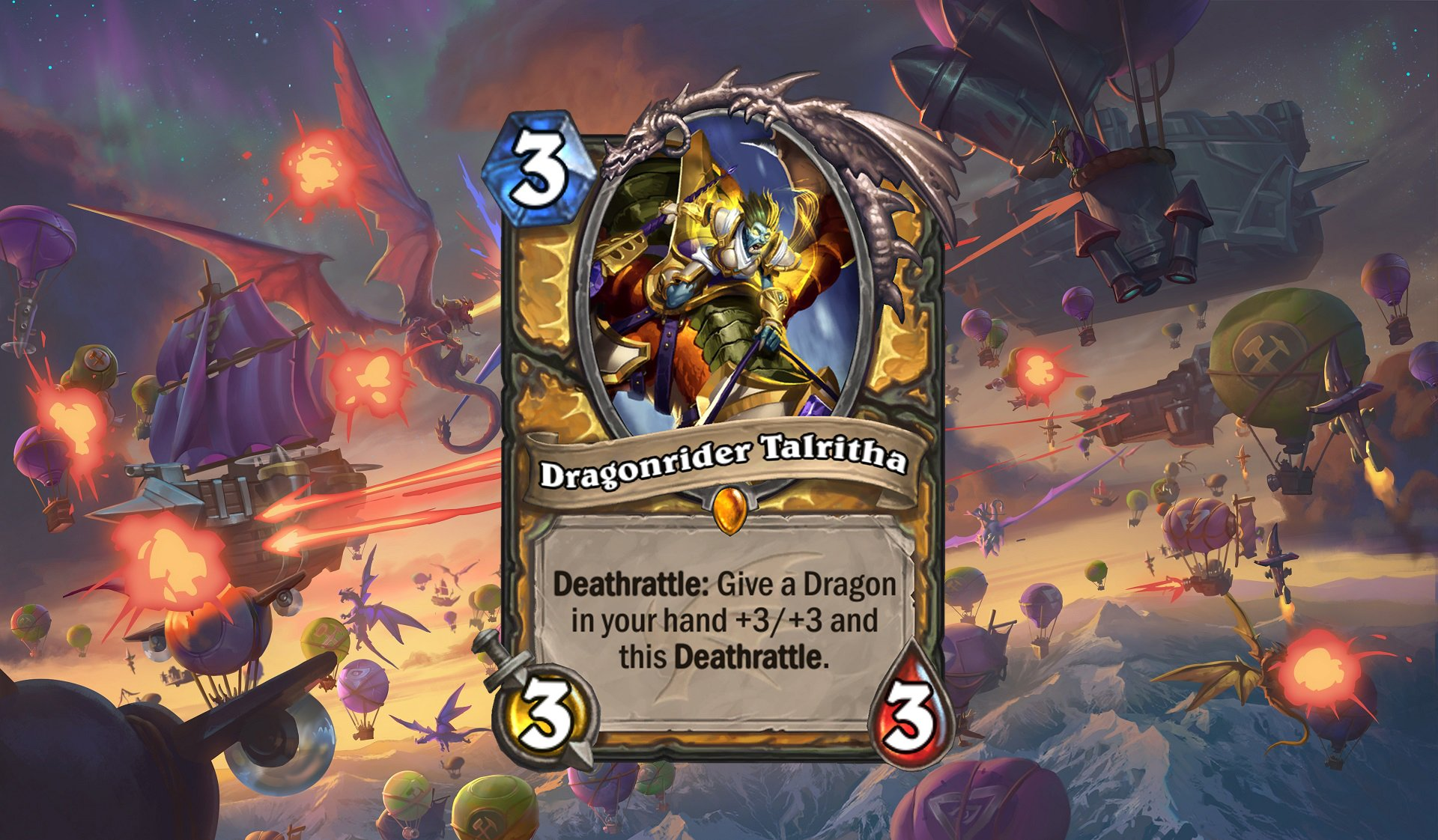 Hearthstone - Dragonrider Talritha