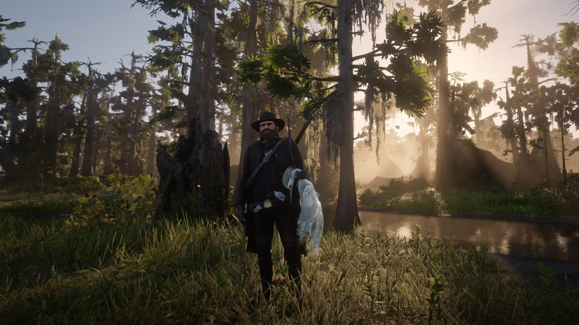 Snowy Egret location in Red Dead Redemption 2