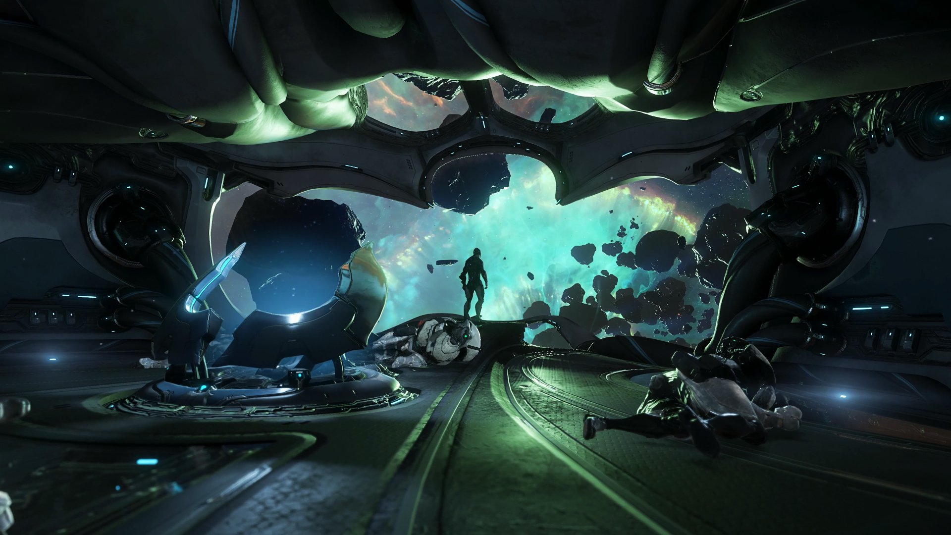 Warframe Empyrean update now out on PC