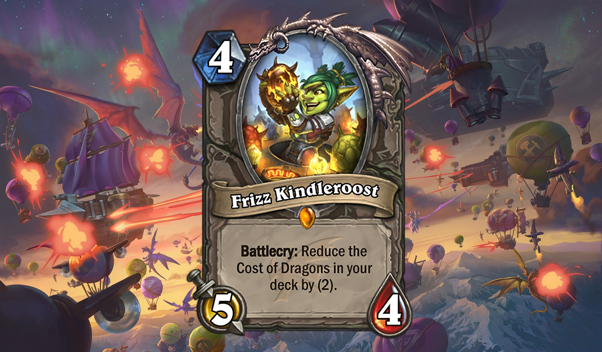 Hearthstone - Frizz Kindleroost