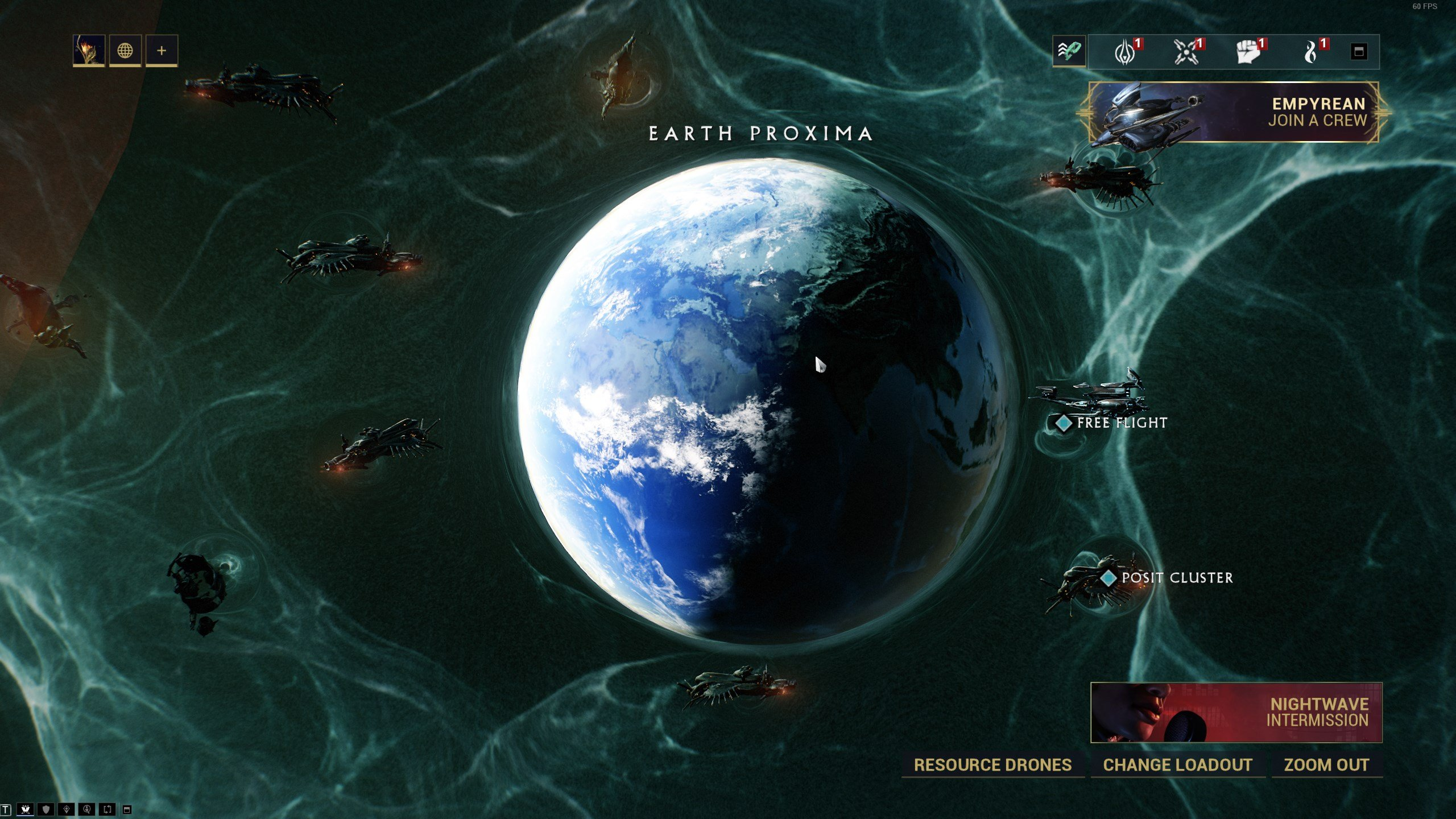 Warframe Empyrean - Earth Proxima missions
