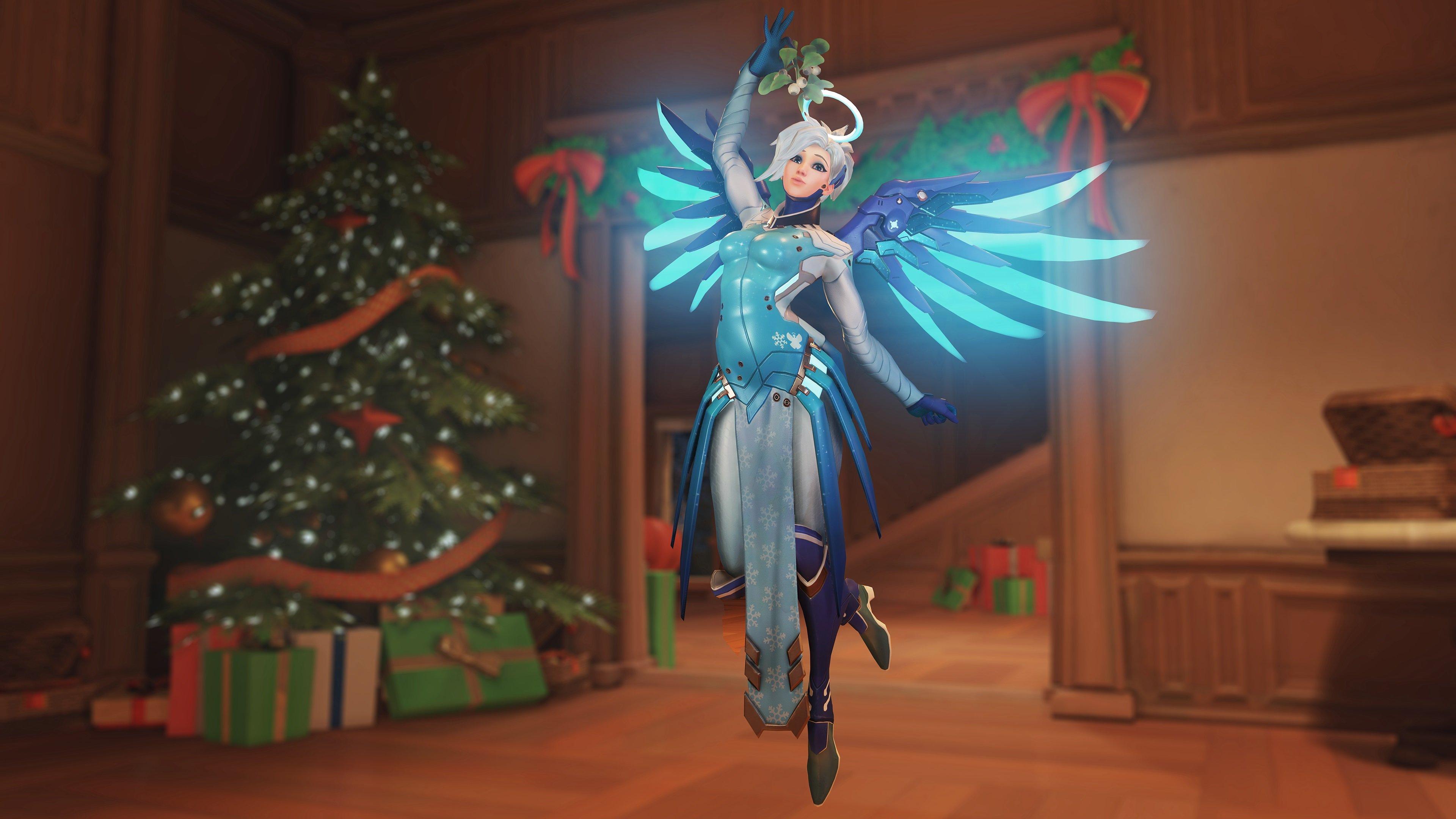 Overwatch - Snow Angel Mercy