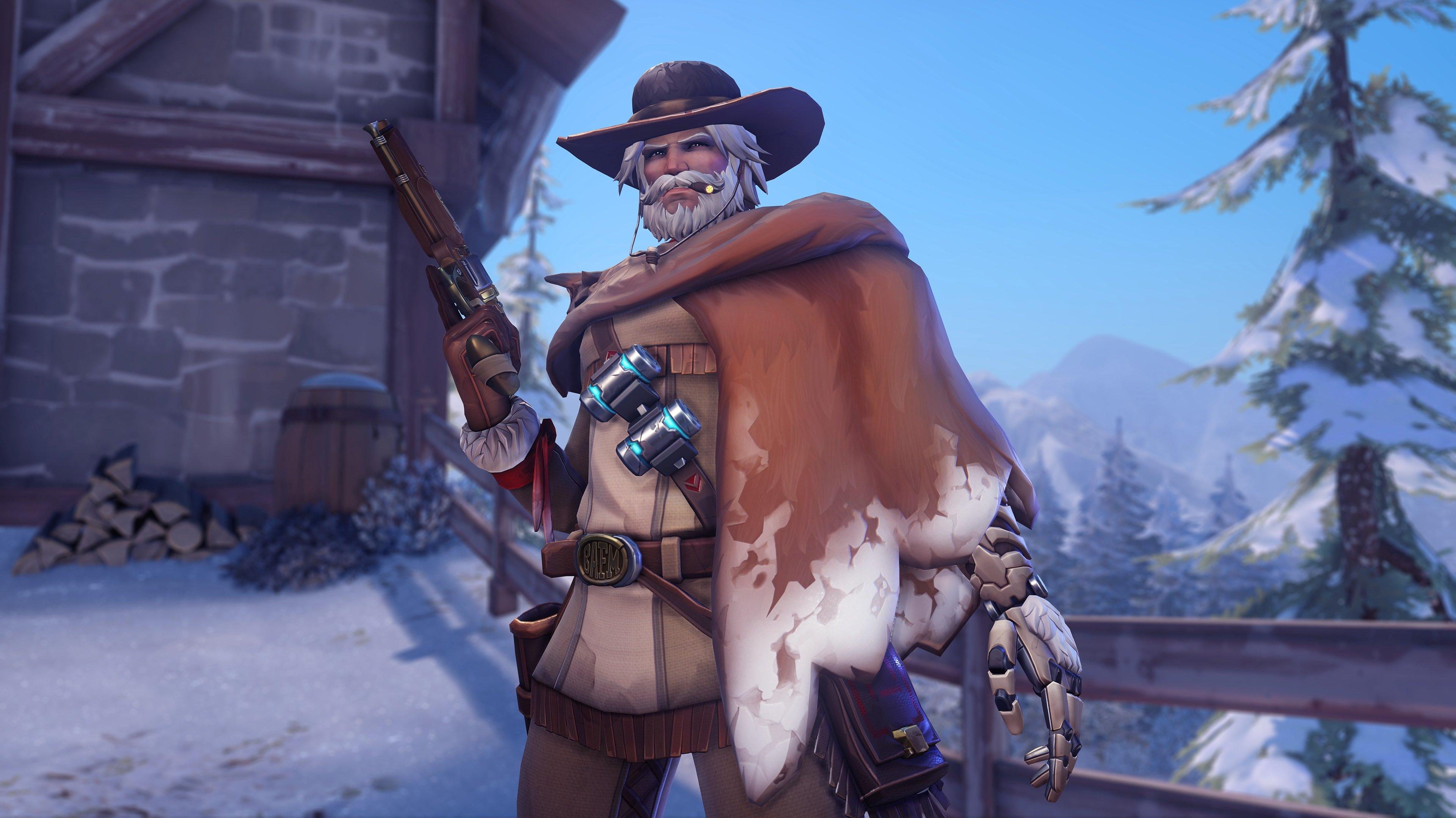 Overwatch - Mountain Man McCree