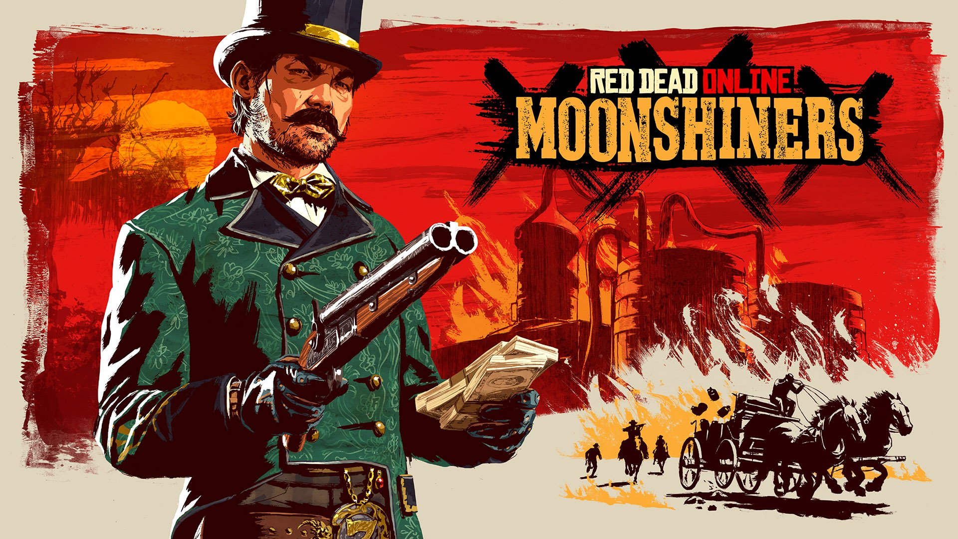 Moonshiners Frontier Pursuit coming to Red Dead Online