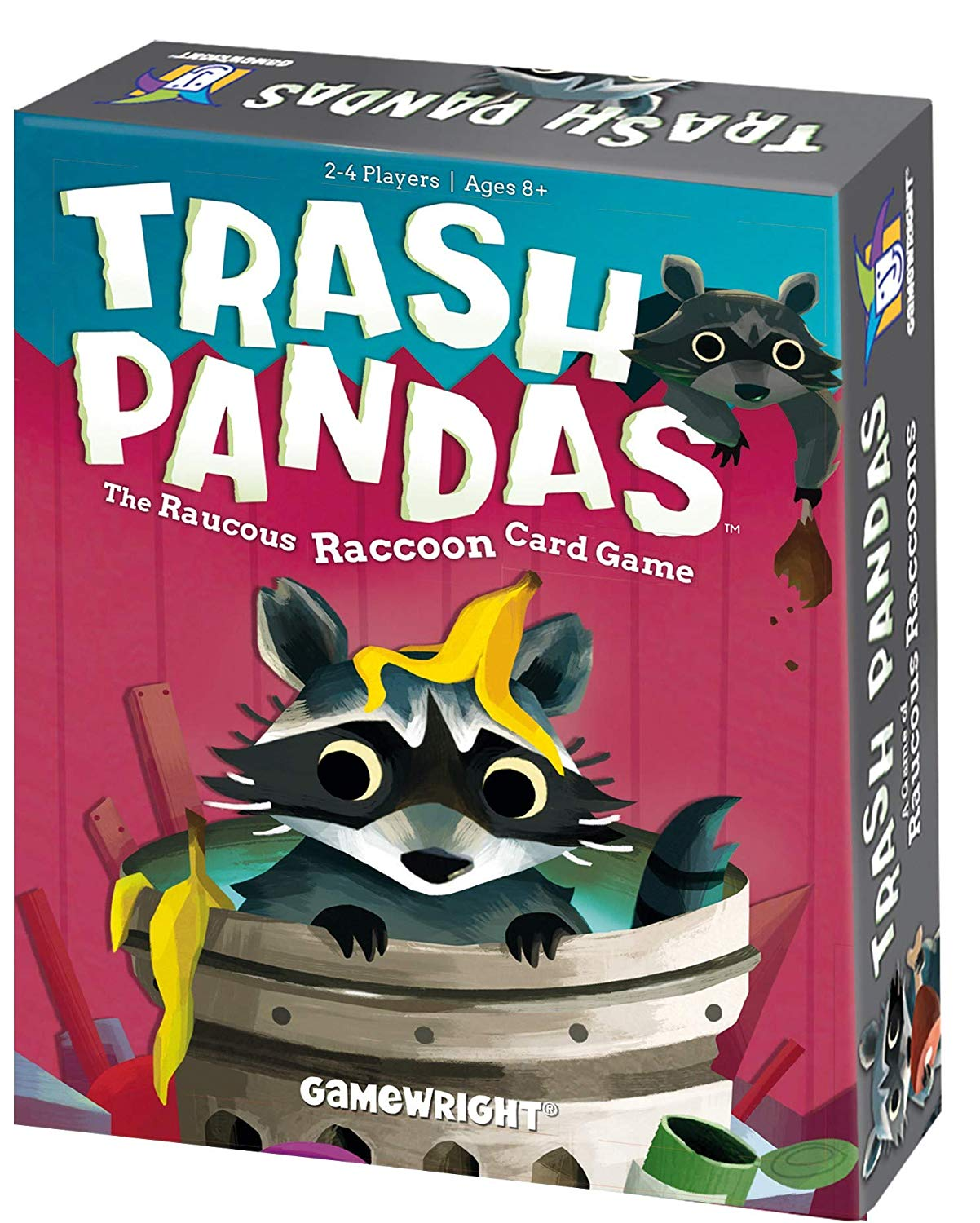 Who wouldn't want to be an adorable trash panda?